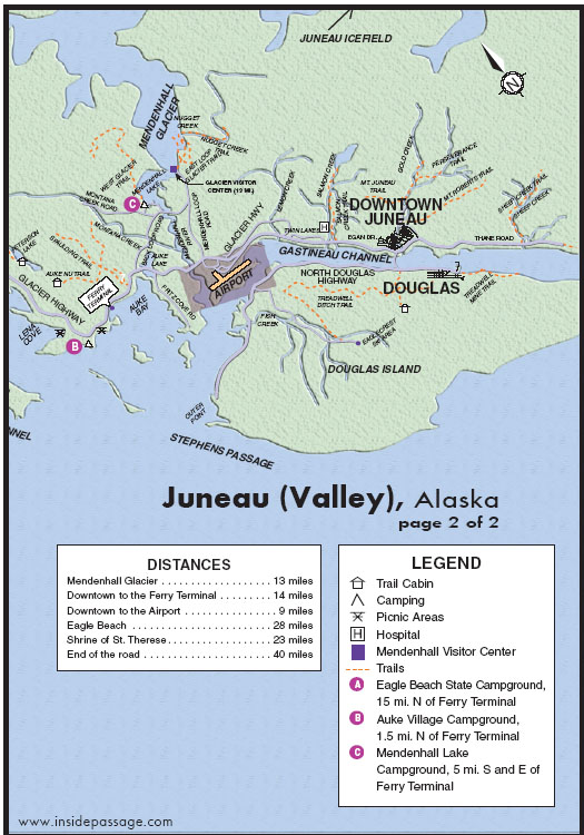 Juneau Walking Map Pictures To Pin On Pinterest  PinsDaddy
