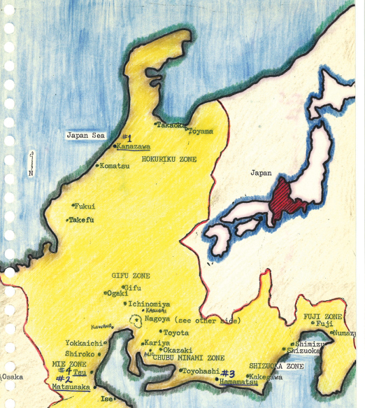 nagoya japan map. Japan Nagoya Mission Maps