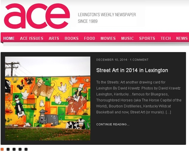 Sumoflam Mural Photos Featured in ACE Weekly