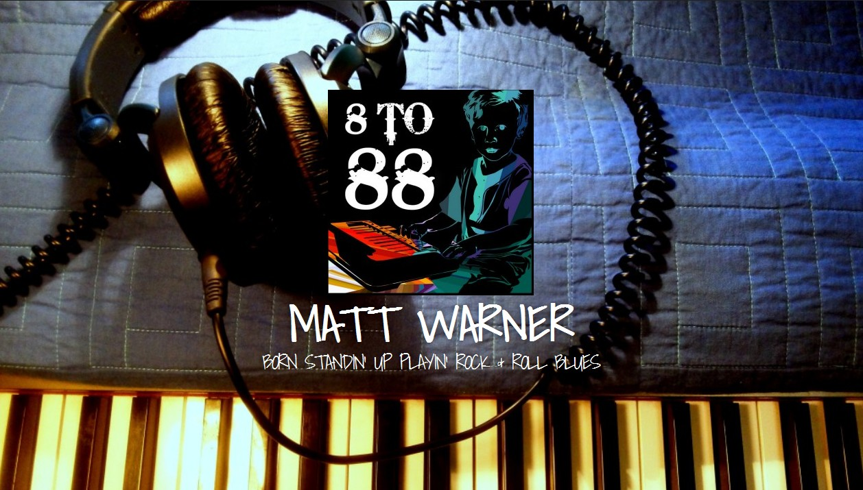 Amazing New Rock/Honky Tonk Pianist Matt Warner Teams Up With Sumoflam Productions
